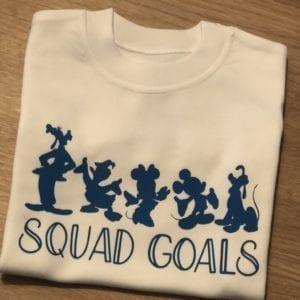 Boys squad goals tshirt