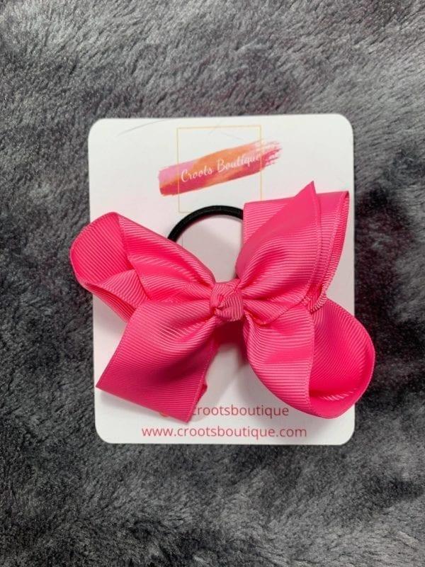 Bright Pink Hair bobble