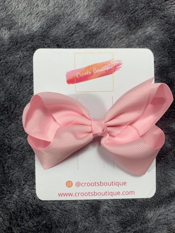 Baby Pink ribbon Bow