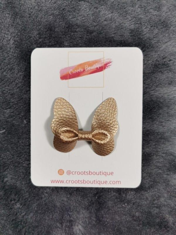 Bronze Butterfly Clip