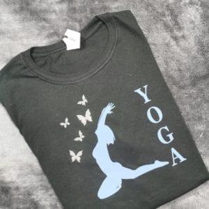 Yoga Butterfly Tee