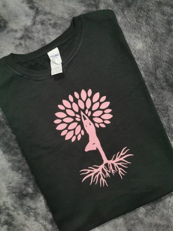 Yoga tree tee