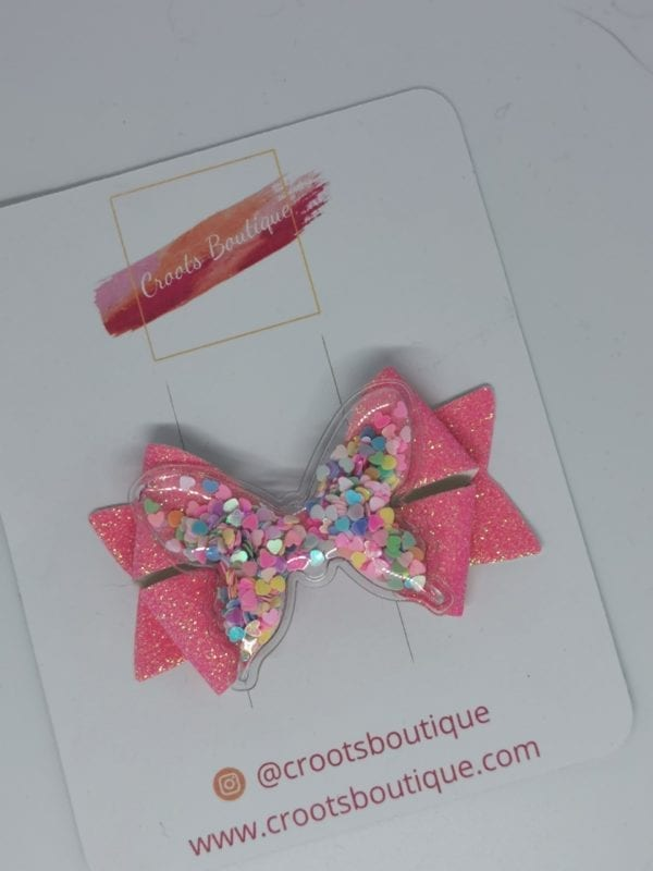 Pink Butterfly Shaker bow