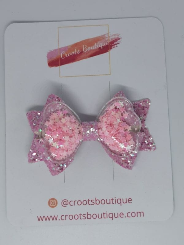Pink Shaker Bow