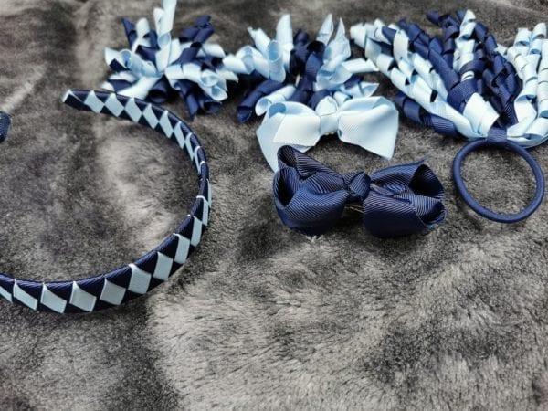 corker bows blue