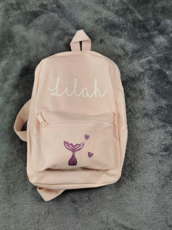 powder pink bag